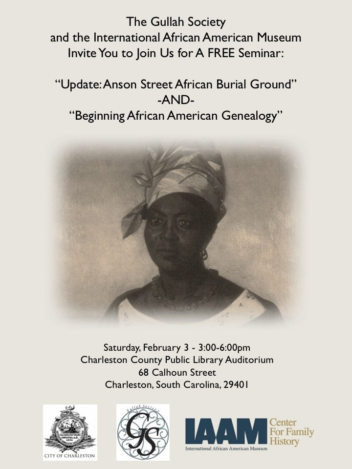 Feb 3 2018 Gullah Society and IAAM CFH