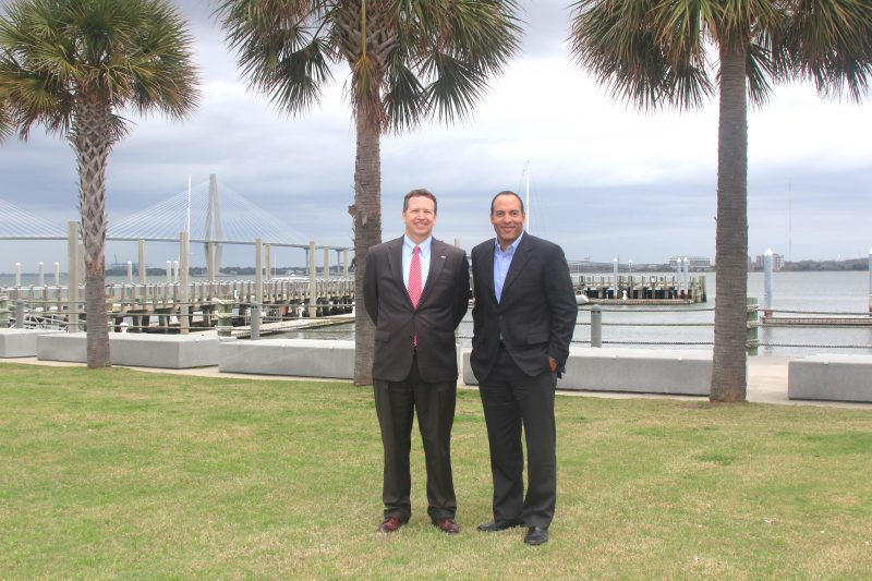SunTrust's Mark Lattanzio and IAAM's Michael Boulware Moore Visit IAAM Site