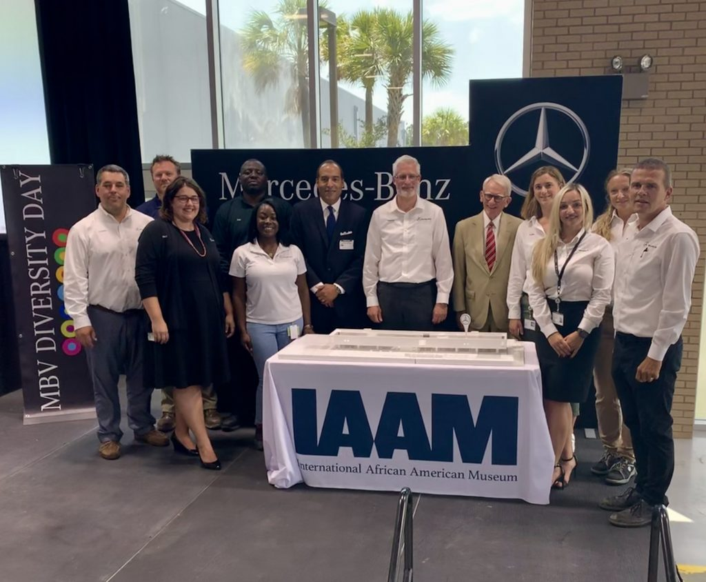 MBV and IAAM Team Members at Diversity Day Event on May 30, 2019